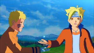 7th Hokage Kurama Naruto with Sage Boruto - Naruto Ultimate Ninja Storm 4 PC Moveset Mod Gameplay