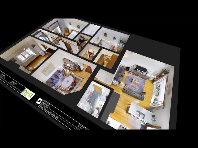 3D floorplan - 6 Mercer Street