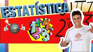 Estatística Básica / Moda/Mediana/Média/Estatística/Estatistica Descritiva/Estatística Descritiva