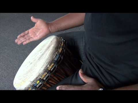 Exercise 1: How to play the djembe lesson – african drum and rhythm training