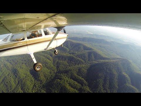 Landing in Mena, AR   Ozark Mountains   ATC Audio