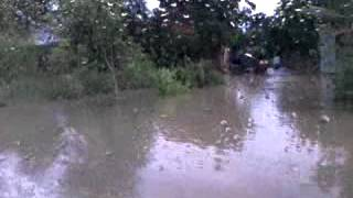 Floods Everywhere At Cambodia - Travelling From Siem Reap To Bangkok With A Minibus