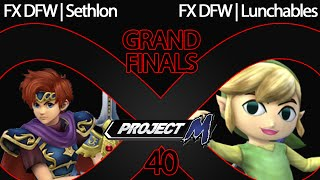 (Rematch HYPE) Grand Finals – IaB 40 – Lunchables (Roy, Toon Link) vs. Sethlon (Roy)