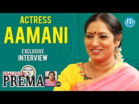 Actress Aamani Exclusive Interview    Dialogue With Prema