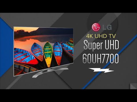 LG 60 Silver Super UHD 4K Smart LED HDTV 60UH7700 - Overview