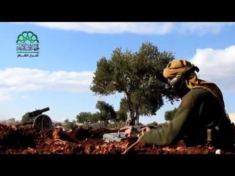 حلب: استهداف ميليشيات الأسد على جبهة حردتنين في ريف حلب الشمالي بصواريخ كاتيوشا