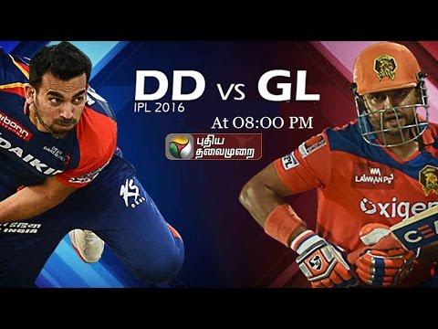 Today-IPL-2016-Matche--Gujarat-Lions-Vs-Daredevils-At-08-00-PM