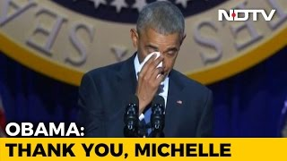 Video Barack Obama, In Tribute to Wife Michelle, Calls Her His Best Friend download in MP3, 3GP, MP4, WEBM, AVI, FLV Mei 2017
