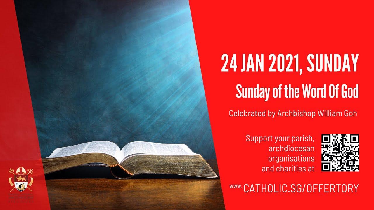 Catholic Sunday Mass 24th January 2021