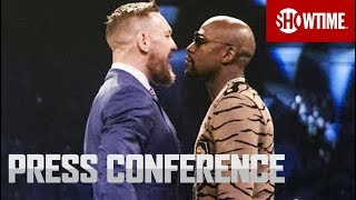 Video Floyd Mayweather vs. Conor McGregor: London Press Conference | SHOWTIME MP3, 3GP, MP4, WEBM, AVI, FLV Februari 2019