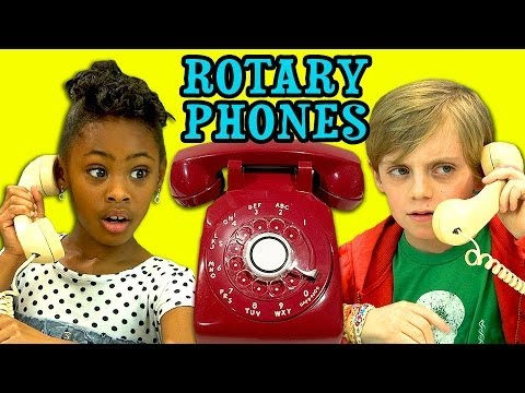 kids - Rotary Phones Bonus Reactions: http://goo.gl/vwEOtd NEW Vids Sun,Thurs & Sat! Subscribe: http://bit.ly/TheFineBros Watch all episodes of REACT http://goo.gl/...