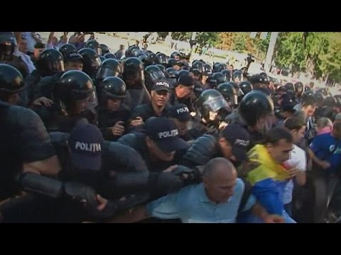 Μολδαβία: Σοβαρά επεισόδια κατά την ημέρα της ανεξαρτησίας