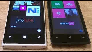 Video MetroTube Vs MyTube, YouTube Clients on Windows Phone MP3, 3GP, MP4, WEBM, AVI, FLV September 2018