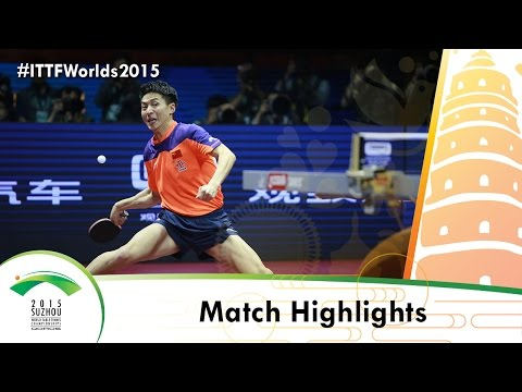 WTTC 2015 Highlights: MA Long vs FANG Bo (FINAL)