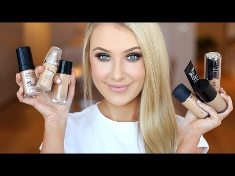 Useful and fun reivew of holy grail/most used liquid foundations