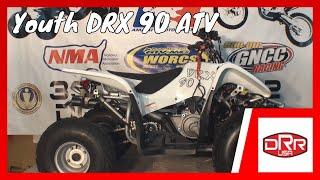 7. DRR USA DRX Youth ATV Four Wheeler VS Honda TRX & Yamaha Raptor