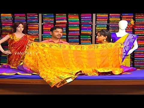 Latest Bridal Collections in Kalyana Pattu and Designer Sarees || Sogasu Chuda Tarama || Vanitha TV 28 January 2016 02 36 PM