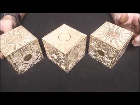Functional Hellraiser Puzzle Boxes  / 3 Puzzles /  3 Solutions / 1 Box / Lament Configuration /