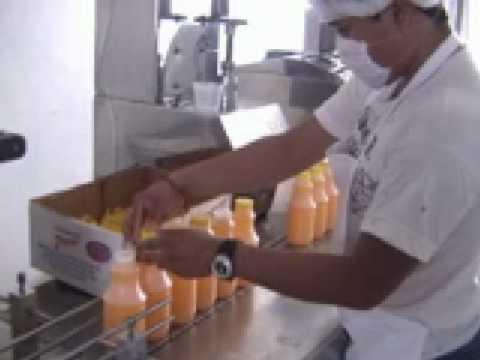 Ingeniería Industrial UPAEP -Video de envasado de jugos-