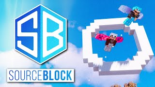 SourceBlock SMP - ELYTRA FLIGHT TRAINING w/ MythicalSausage & fWhip | Minecraft Server