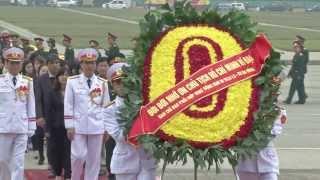 Lễ viếng cấp Nhà nước ngày 27 tháng 01