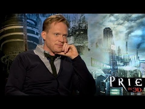 Paul Bettany - http://www.hollywood.com 'Priest' star, Paul Bettany discusses getting into action-hero shape and working with the sexy Maggie-Q.