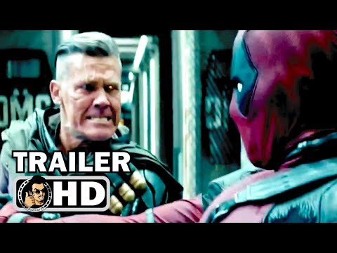 "DEADPOOL 2 ""Deadpool vs Cable"" TV Spot Trailer 