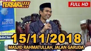 Video Ceramah Terbaru Ustadz Abdul Somad Lc, MA - Masjid Rahmattullah, Jalan Garuda MP3, 3GP, MP4, WEBM, AVI, FLV November 2018