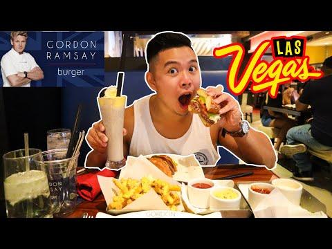 GORDON RAMSAY Burger In Las Vegas Is Open! (Restaurant Review)