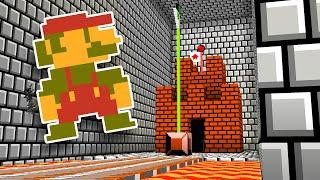 Minecraft But It's Super Mario