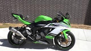 2. 006090   2015 Kawasaki Ninja ZX 6R ABS 30th Anniversary   ZX636F - Used motorcycles for sale
