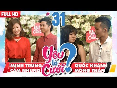 YÊU LÀ CƯỚI? | YLC #31 UNCUT | Minh Trung - Cẩm Nhung | Quốc Khánh - Mộng Thắm | 190518