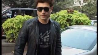 Shiney Ahuja at the Ghost - Berkowits tie up