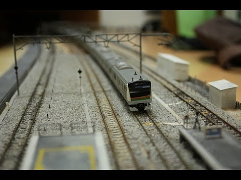 【模型】 E233系+E231系 高崎線で併結試運転(実車音付き)