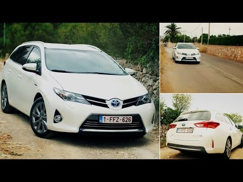 2013 Toyota Auris Touring Sports Review and Test Drive