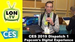 Video CES 2019 Dispatch 1 : Lots of Cool Gadgets at Pepcom's Digital Experience MP3, 3GP, MP4, WEBM, AVI, FLV Mei 2019