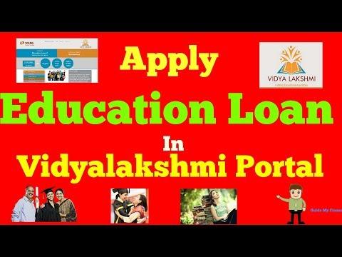 How to  Apply Education Loan in Vidyalakshmi  Portal |  विद्यालयक्षी पोर्टल के बारे में जानें