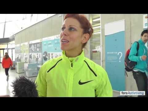 Natalia Rodríguez e Isabel Macías, campeona y subcampeona de 1500m
