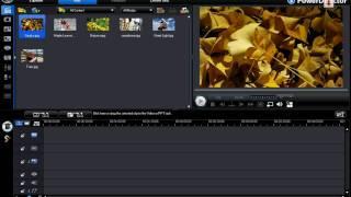 การต่อวีดีโอด้วย PowerDirector