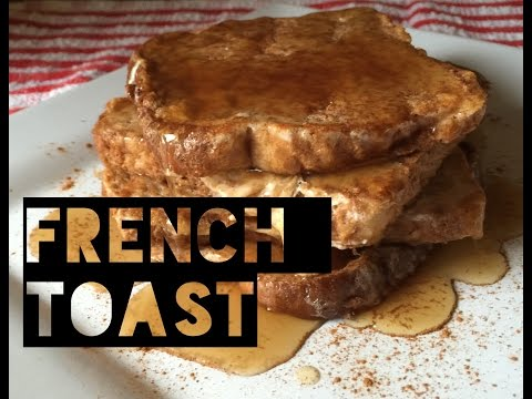 Healthy French Toast Recipe | How To Make Low Calorie Low Carb French Toast