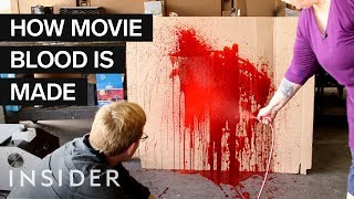 How Fake Blood Is Made For Movies | Movies Insider