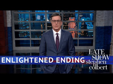 Stephen Colbert on Trump's Reaction to HK Protests