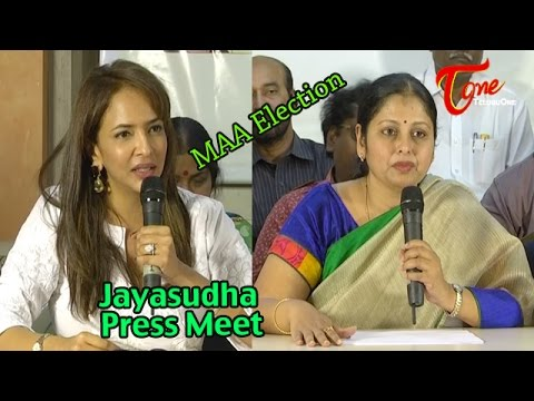 MAA Election Press Meet | Jayasudha | Manchu Lakshmi