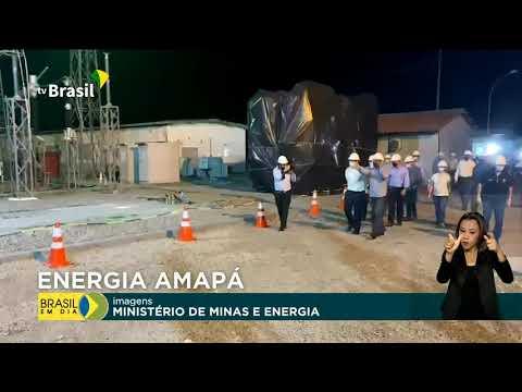Amapá recebe reforço de equipamentos de energia