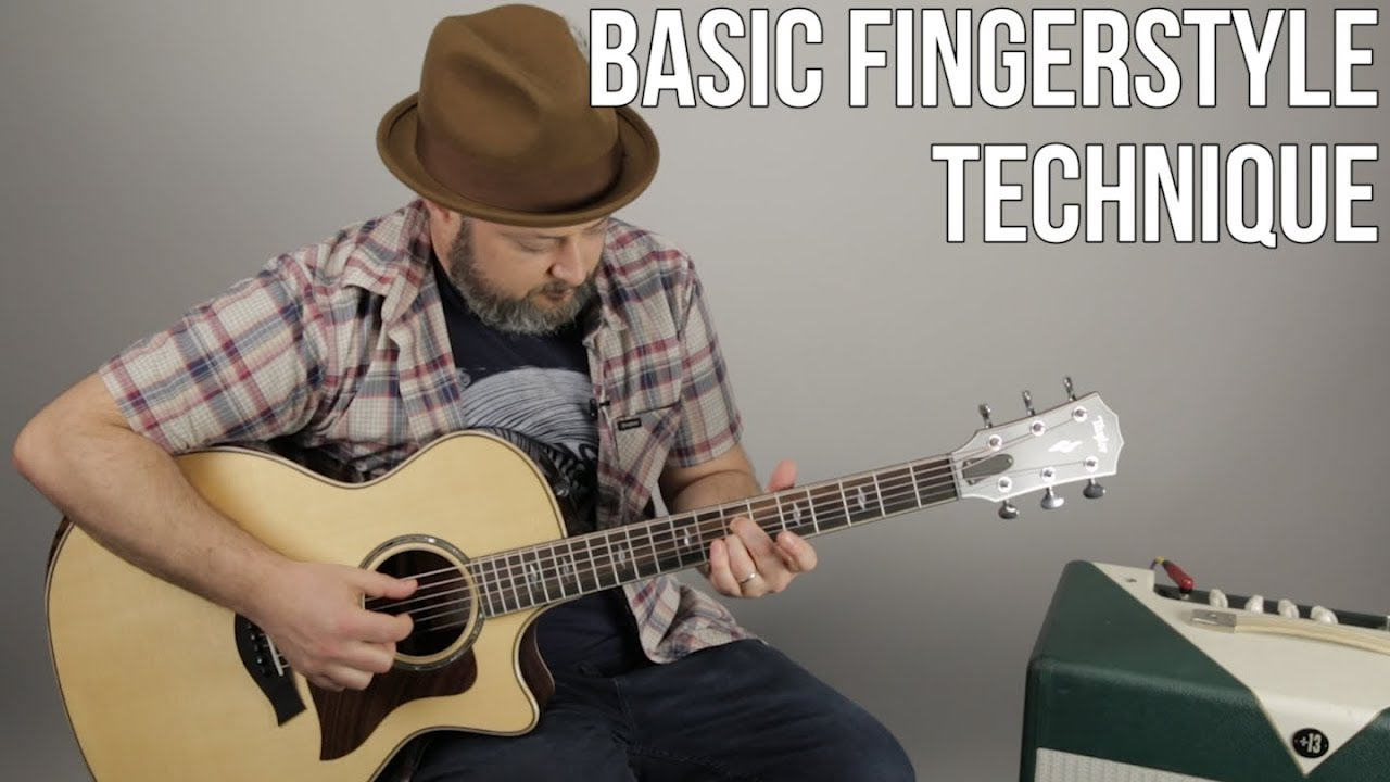 Fingerstyle Guitar Technique – Basic Fingerpicking Pattern For Acoustic Guitar
