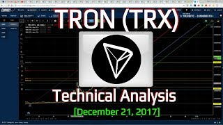 TRON Technical Analysis (TRX) : A project and a Chart to Watch  [December, 2017]