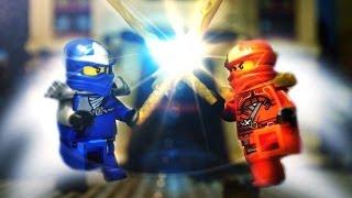 Epic Lego Ninja Duel Stop Motion Animation