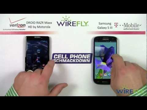 DROID RAZR Maxx HD Vs. Samsung Galaxy S III Smartphone Review