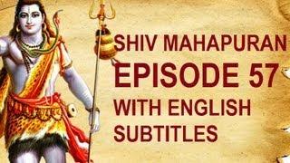Shiv Mahapuran with English Subtitles - Shiv Mahapuran Episode 57  I Kiratarjun Katha ~ The Story of