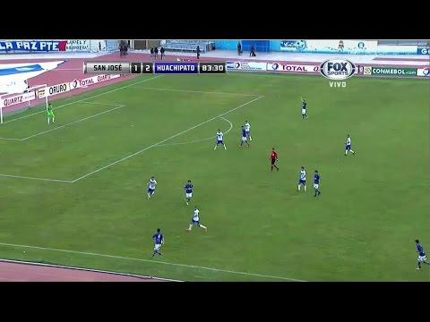 jose - Copa Sudamericana. Primera fase, vuelta. San José (BOL) 2 - 3 Huachipato (CHI). Goles: 0-1, m.18: Lucas Simón. 0-2, m.33: Carlos Espinosa, de penal. 1-2, m.47: Cristian Díaz, de penal....